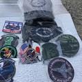 Photos: 撮って出し。。築城基地航空祭の戦利品F16デモチームのグッツ中心に 11月24日
