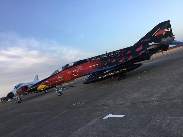 撮って出し。。百里基地航空祭特別公開 昨日お披露目したばっかりの黒ファントム 12月1日