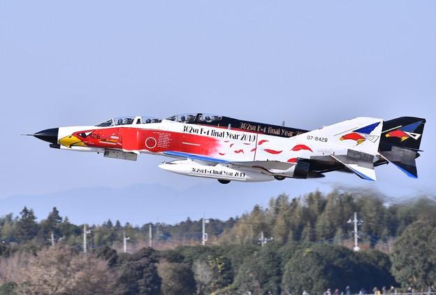 撮って出し。。百里基地 航空祭前日特別公開 スペマ機で行うAGG上がり白黒 12月1日