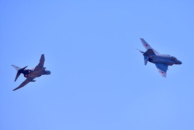 撮って出し。。百里基地航空祭前日特別公開 風向き変わって遠くでパッカーン(^_^;)  12月1日