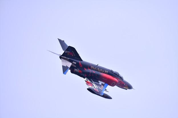 撮って出し。。百里基地航空祭 豪華なスペマ機でAGG対地攻撃デモ 黒ファントム 12月2日