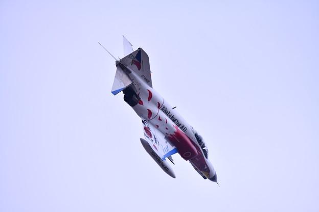 撮って出し。。百里基地航空祭 豪華なスペマ機でAGG対地攻撃デモ 白ファントム 12月2日