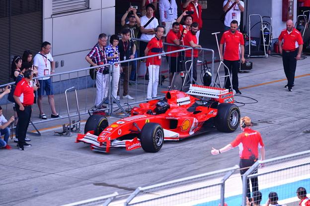 富士スピードウェイ 歴代フェラーリF1サーキットへ(2) 20180630