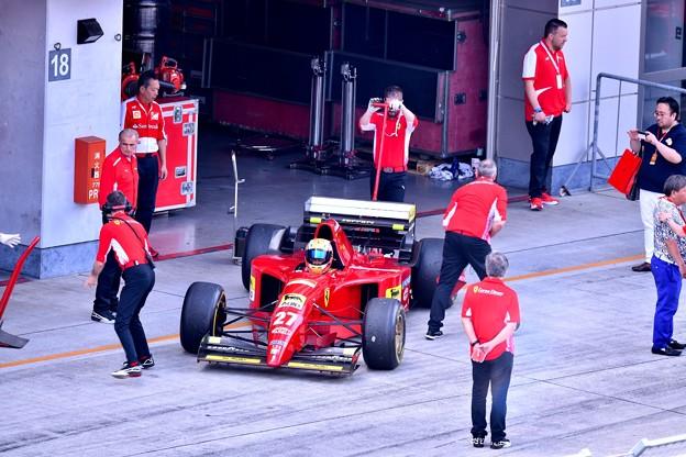 富士スピードウェイ 歴代フェラーリF1サーキットへ(3) 20180630