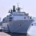 晴海埠頭へ移動して一般公開したイギリス海軍揚陸艦アルビオン 20180805