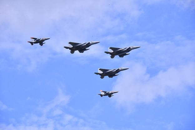 2018年振り返って。。夏に開催された札幌航空ページェント千歳基地の航空機編隊飛行 20180812