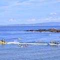 2018年振り返って。。夏休みの横須賀観音崎海水浴場風景  20180814