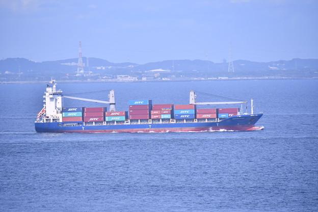 2018年振り返って。。浦賀水路行き交う貨物船 20180814