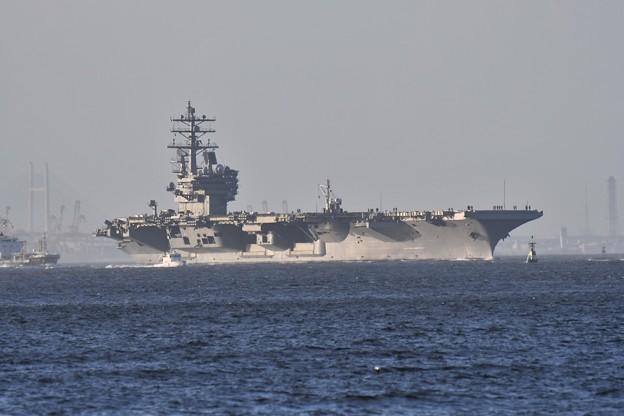 2018年振り返って。。夏 パトロールへ米海軍空母ロナルドレーガン(2) 20180814