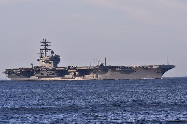 2018年振り返って。。夏 パトロールへ米海軍空母ロナルドレーガン(3) 20180814