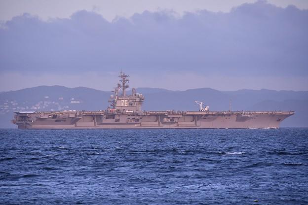 2018年振り返って。。夏 パトロールへ米海軍空母ロナルドレーガン(4) 20180814