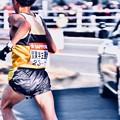 Photos: 撮って出し。。颯爽と次の走者へ襷を。。鶴見中継所 1月3日