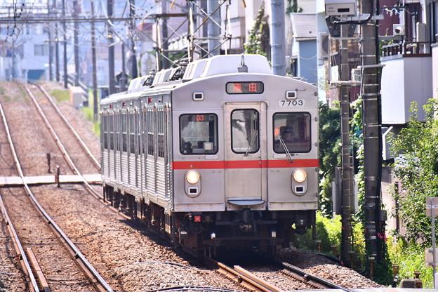もう見れない引退した東急7700系(1) 20180827