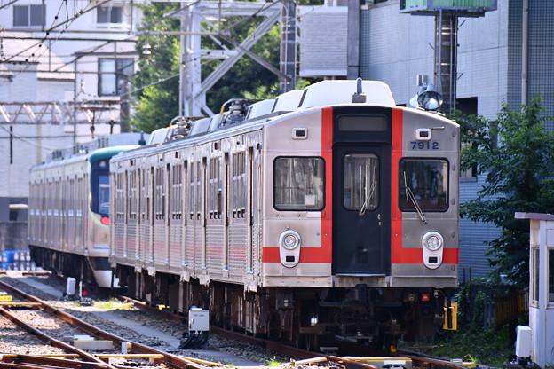 Photos: もう見れない引退した東急7700系(3) 歌舞伎塗装 20180827