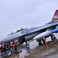 Photos: 雨だった横田基地FSD 目玉だった在韓米軍オーサン基地のスペマ機F16 20180916
