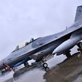 雨だった横田基地FSD 久々の在韓米軍クサン基地のF16 20180916