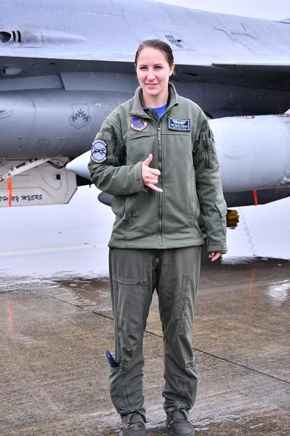 雨だった横田基地FSD 在韓米軍F16女性パイロット 20180916