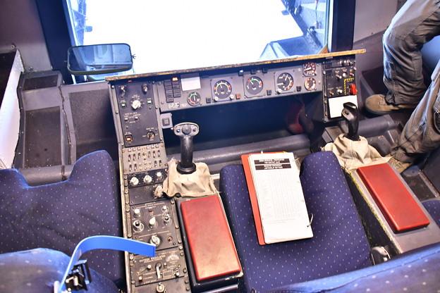 雨だった横田基地FSD KC-10エクステンダーの空中給油ブースまるでガンダムのコックピット(^O^) 20180916