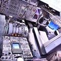 Photos: 雨だった横田基地FSD KC-10エクステンダーのコックピット 20180916