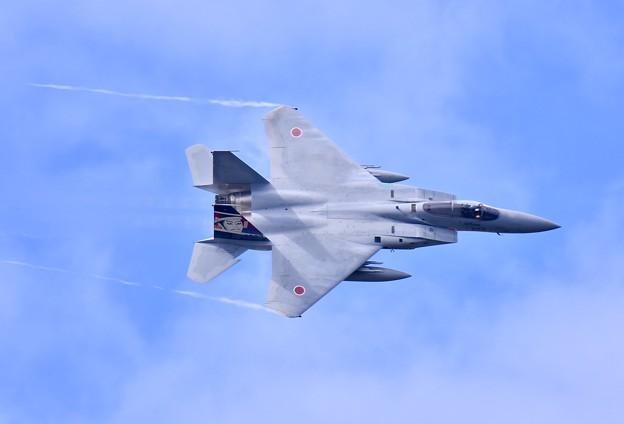 第306飛行隊ゴールデンイーグルス スペマ機機動飛行(1)