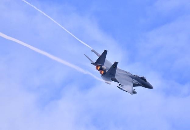第306飛行隊ゴールデンイーグルス スペマ機機動飛行(4)