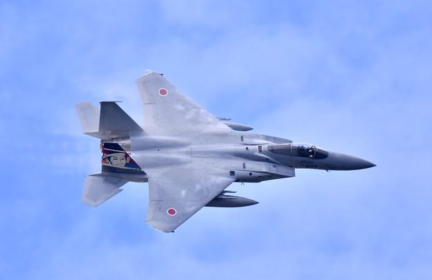 第306飛行隊ゴールデンイーグルス スペマ機機動飛行(5)