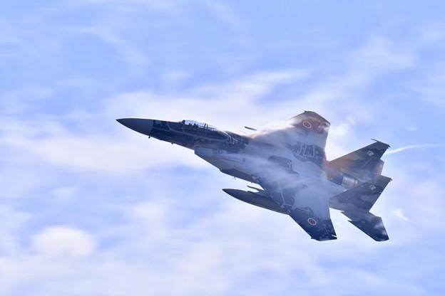 新色の飛行教導群アグレッサー 機動飛行(1)