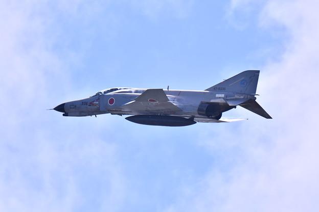 岐阜のF4ファントム機動飛行(1)