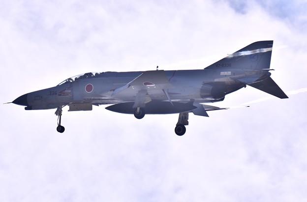岐阜のF4ファントム機動飛行(2)