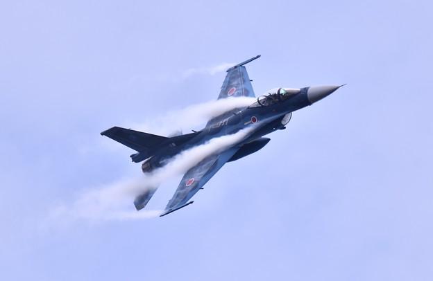 岐阜のF2 機動飛行(2) ベイパー出し