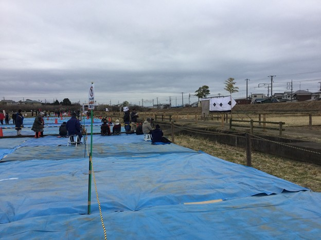 撮って出し。。小田原市で流鏑馬 2月11日