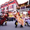 Photos: 撮って出し。。横浜中華街 パレード祝舞遊行 中国獅子舞 20190216