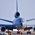 撮って出し。。岩国へ夕方 空中給油機KC-10エクステンダー飛来(4) 20190224