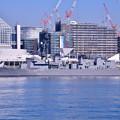 Photos: 撮って出し 朝の晴海埠頭 ホストシップ護衛艦むらさめ 20190309