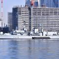 撮って出し 晴海埠頭に寄港したイギリス海軍フリゲート艦モンテローズ寄港