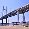 Photos: 撮って出し。。横浜散歩 大黒埠頭からベイブリッジ