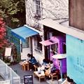 撮って出し。。横浜散歩 大さん橋近くのカフェ。。
