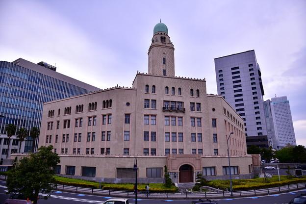 撮って出し。。横浜散歩 古い外観の旧横浜税関