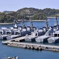 Photos: 撮って出し。。横須賀基地に多くの艦船停泊 ? 20190420