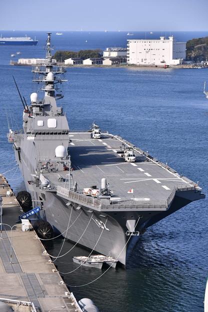 撮って出し。。久々のヘリコプター搭載護衛艦いせ 呉基地より 20190420