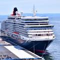 Photos: 撮って出し 年に数回寄港 豪華大型客船クイーンエリザベス号 スカイウォークから(2) 20190428