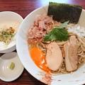 写真: 180505 ひな多@鴻巣市~「限定★アサリと伊吹煮干しの和え蕎麦」