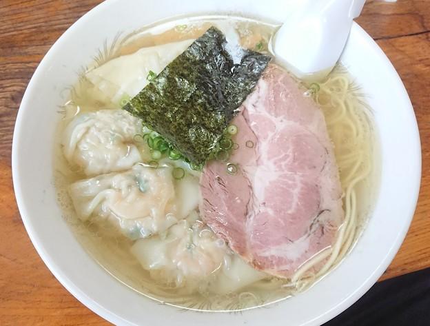 180515-2 伊達屋@福島市~「塩雲呑麺」