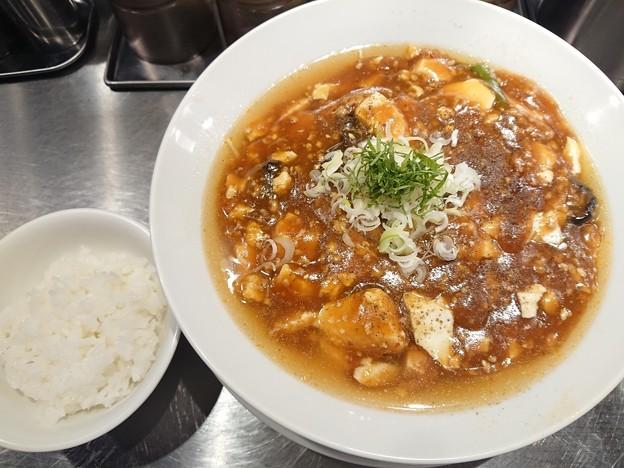 181012 麺屋愛心@荒川区~「麻婆麺」