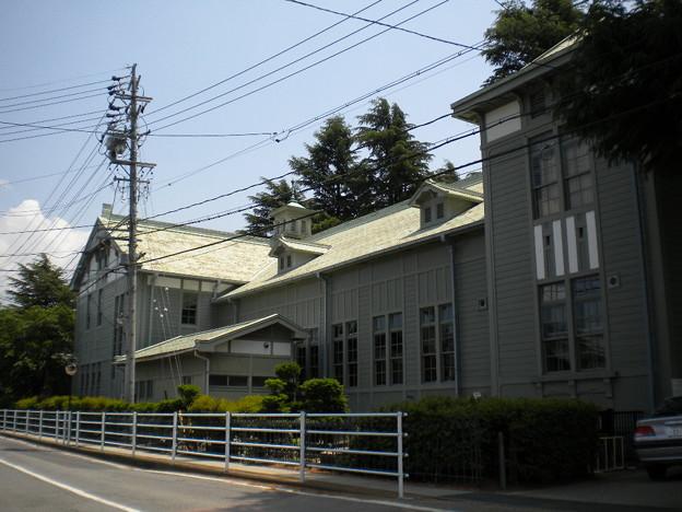 近代建築『旧松本高等学校 講堂 』