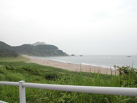 恋路が浜 砂浜