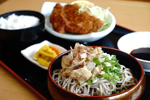 カツ定食(道の駅・一乗谷あさくら水の駅【福井】)