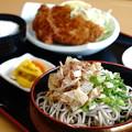 写真: カツ定食(道の駅・一乗谷あさくら水の駅【福井】)