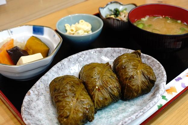 めはり定食(道の駅・瀞峡街道熊野川【和歌山】)