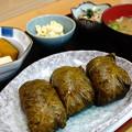 写真: めはり定食(道の駅・瀞峡街道熊野川【和歌山】)